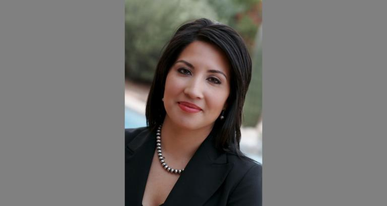 A headshot of assistant professor Erica Corral