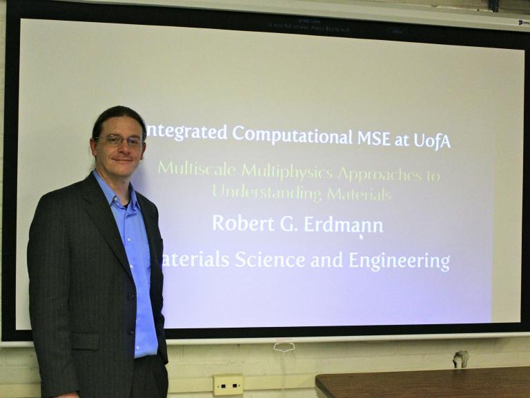 Prof. Robert Erdmann - MSE department